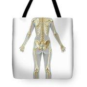 The Skeleton Female Tote Bag
