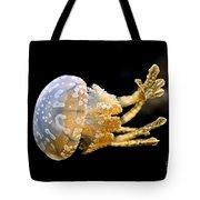 The Spotted Jelly Or Lagoon Jelly Mastigias Papua Tote Bag