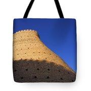 The Walls Of The Ark At Bukhara In Uzbekistan Tote Bag