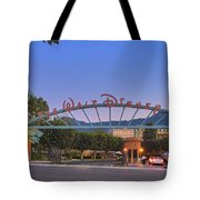 The Walt Disney Company In Burbank Ca. Sunset Tote Bag