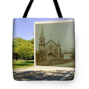 Third Methodist Church On The Commons In Little Compton Rhode Island Tote Bag