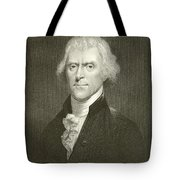 Thomas Jefferson Tote Bag by English School