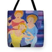 The Yoga Girls Tote Bag by Don Larison
