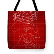 Thumb Wrestling Game Patent 1991 - Red Tote Bag