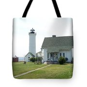 Tibbetts Point Light Tote Bag by Kevin Croitz