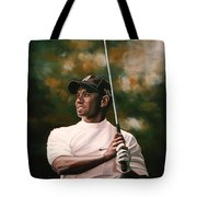 Tiger Woods  Tote Bag