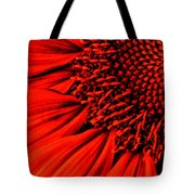 3 Tile Sunflower Colors Tote Bag
