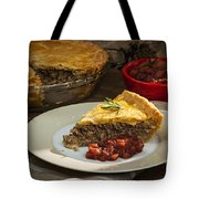 Tourtiere Meat Pie Tote Bag