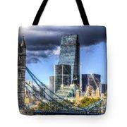 Tower Bridge And The City Tote Bag