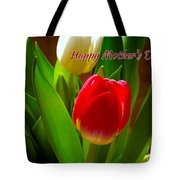 3 Tulips For Mother's Day Tote Bag