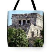 Tulum Ruins Mexico Tote Bag