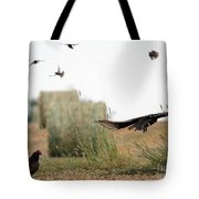 Turkey Vultures Tote Bag