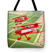 Two Pitts Special S-2a Aerobatic Tote Bag