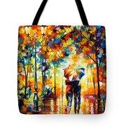 Under One Umbrella Tote Bag by Leonid Afremov