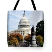 United States Capitol Building Tote Bag