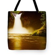 Upper Punch Bowl Falls Tote Bag