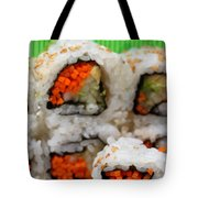 Vegetable Sushi Tote Bag