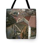 View Of Kotor Town In Montenegro Tote Bag