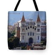 Views Of Messina Italy Tote Bag