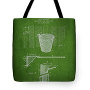 Vintage Basketball Goal Patent From 1925 Tote Bag
