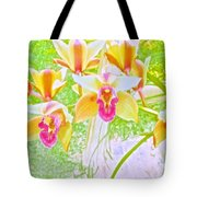 Laughing Watercolor Photography Tote Bag