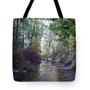 West Fork Oak Creek Tote Bag