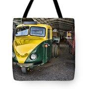 3 Wheeler Truck Tote Bag