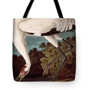 Whooping Crane Tote Bag by Celestial Images