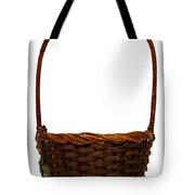 Wicker Basket Number Ten Tote Bag