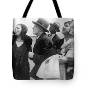 Willi Ruge Parachute Photos Tote Bag
