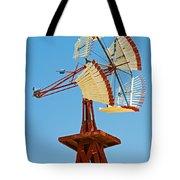 Wind Mills In West Texas Tote Bag