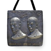 Wright Brothers Memorial Tote Bag