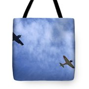 Wwii Planes Tote Bag