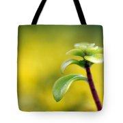 Yellow Sedum Tote Bag