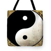 Yin And Yang 4 Tote Bag