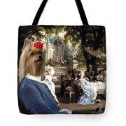 Yorkshire Terrier Art Canvas Print Tote Bag