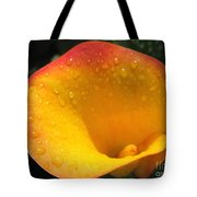 Zantedeschia Named Flame Tote Bag