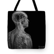 Human Anatomy Tote Bag