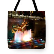 30 Rock Fountain Tote Bag