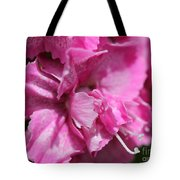Sweet William From The Super Duplex Bluepoint Mix Tote Bag
