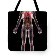 The Respiratory System Tote Bag