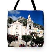 Views Of Taormina Sicily Tote Bag