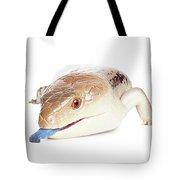 Australian Reptiles On White Tote Bag