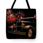 31 Five Window Coupe On The Fourth Of July Tote Bag