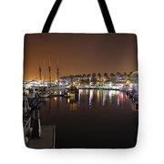 Long Beach Marina- California Tote Bag