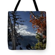 Mt Hood From Lookout Mtn Tote Bag