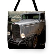 32 5 Window Coupe Rainy Day Cruise Tote Bag