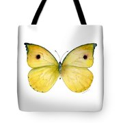 32 Dercas Lycorias Butterfly Tote Bag