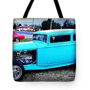 32 Ford Victoria Two Door Tote Bag