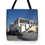 Views Of Santorini Greece Tote Bag